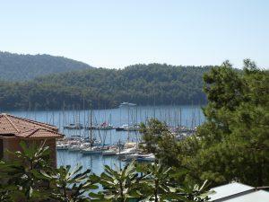 Bucht mit Segelboote in der Türkei