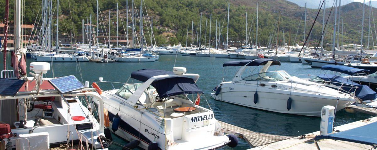 Yachthafen in der Türkei