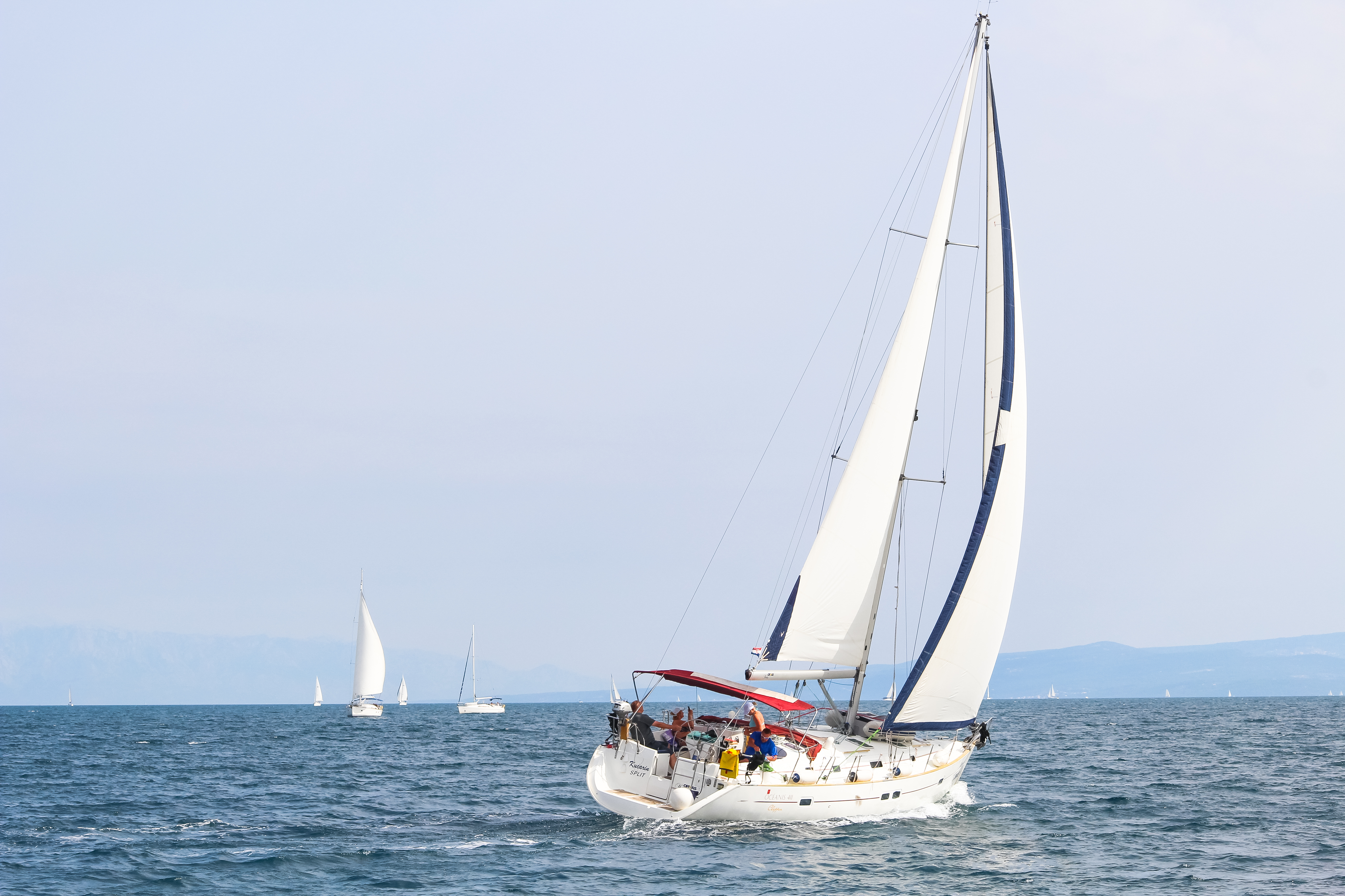 Segeln im Mittelmeer mit Yachtcharter Woop