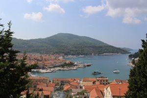 Hafenort Kroatien