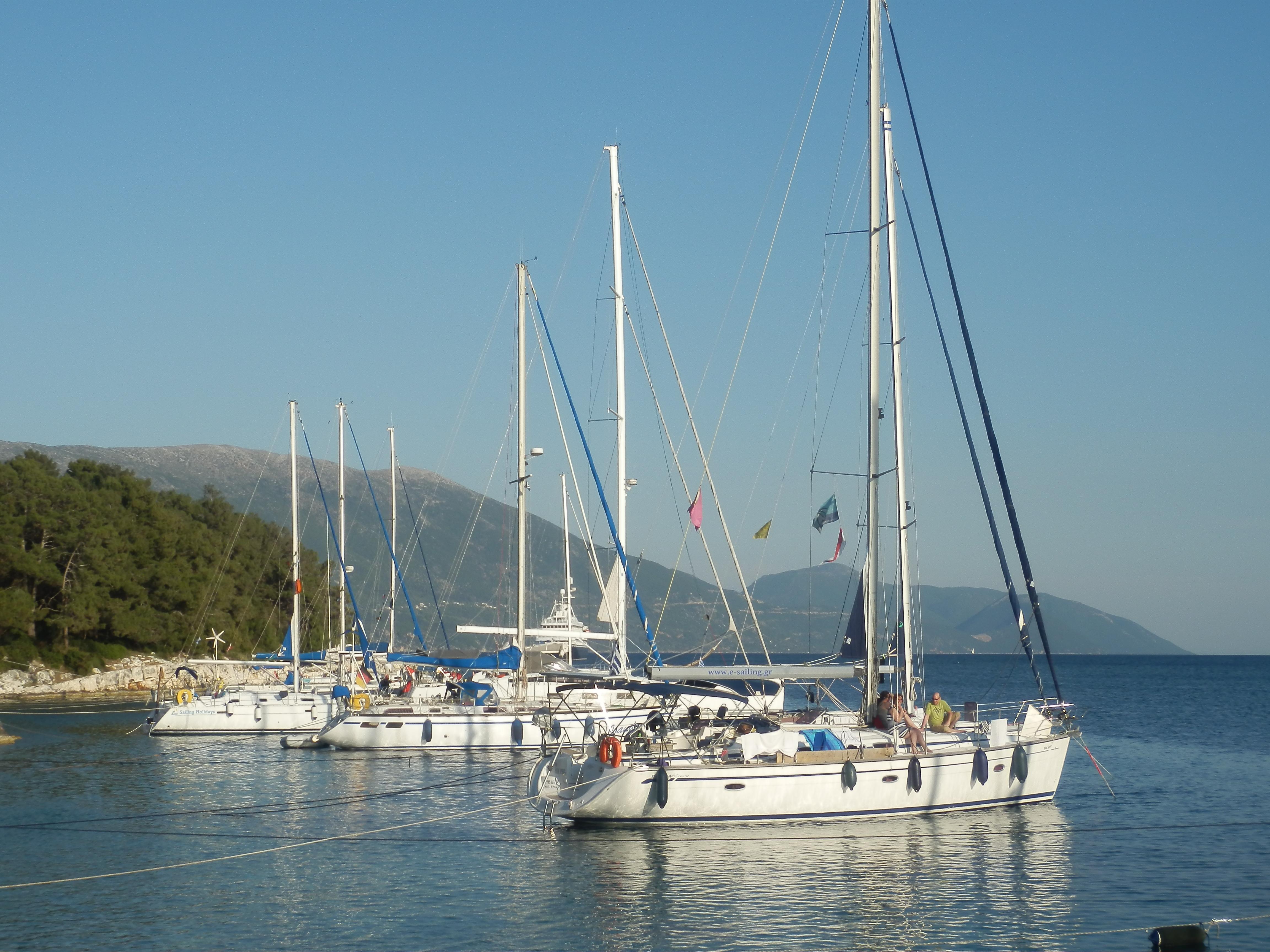 Segeln in Griechenland