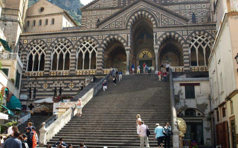 Amalfi Domplatz Italien