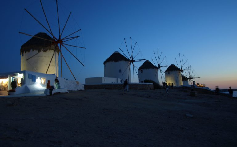 Mykonos Windmühlen