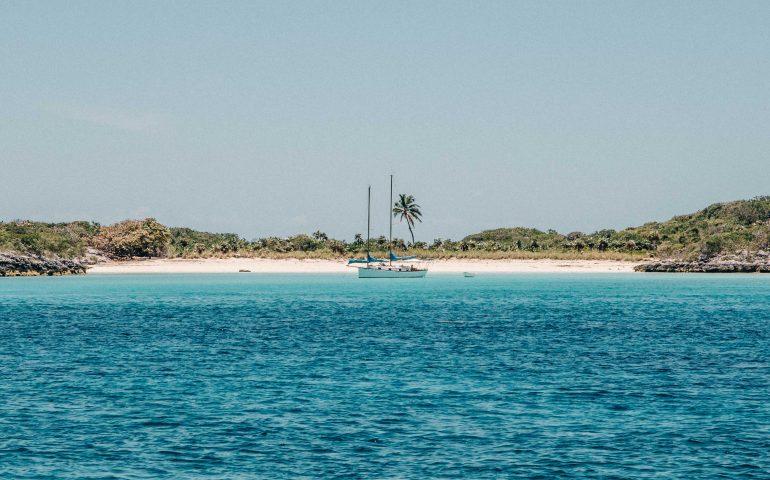 Sandstrand Karibik
