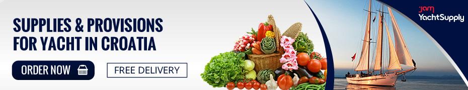 Lieferung Lebensmittel an Bord_Segeln Kroatien